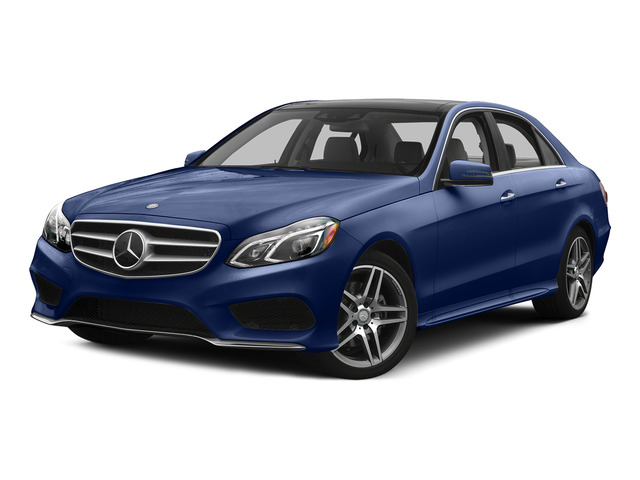 Indigo Blue Metallic 2015 Mercedes-Benz E-Class Pictures E-Class Sedan 4D E400 V6 Turbo photos front view