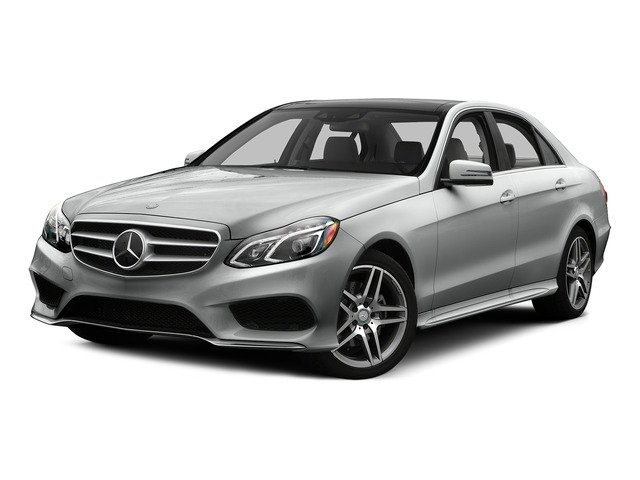 Palladium Silver Metallic 2015 Mercedes-Benz E-Class Pictures E-Class Sedan 4D E400 V6 Turbo photos front view