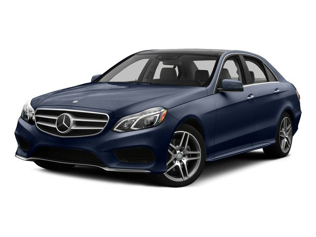 Lunar Blue Metallic 2015 Mercedes-Benz E-Class Pictures E-Class Sedan 4D E400 V6 Turbo photos front view