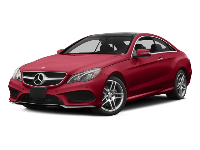 Mars Red 2015 Mercedes-Benz E-Class Pictures E-Class Coupe 2D E400 AWD V6 Turbo photos front view