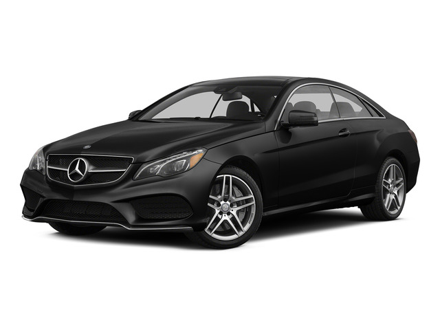 Obsidian Black Metallic 2015 Mercedes-Benz E-Class Pictures E-Class Coupe 2D E550 V8 Turbo photos front view