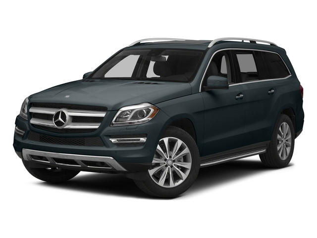 Steel Gray Metallic 2015 Mercedes-Benz GL-Class Pictures GL-Class Utility 4D GL450 4WD V6 photos front view