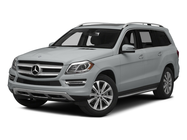 Iridium Silver Metallic 2015 Mercedes-Benz GL-Class Pictures GL-Class Utility 4D GL450 4WD V6 photos front view