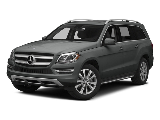 Palladium Silver Metallic 2015 Mercedes-Benz GL-Class Pictures GL-Class Utility 4D GL450 4WD V6 photos front view