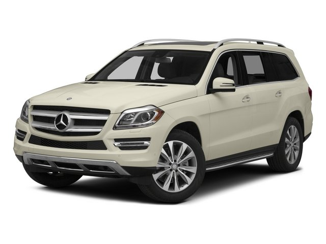 Diamond White Metallic 2015 Mercedes-Benz GL-Class Pictures GL-Class Utility 4D GL450 4WD V6 photos front view