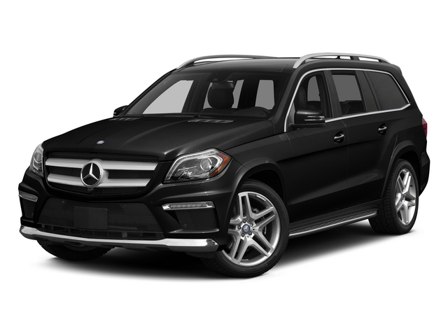 Obsidian Black Metallic 2015 Mercedes-Benz GL-Class Pictures GL-Class Utility 4D GL550 4WD V8 photos front view