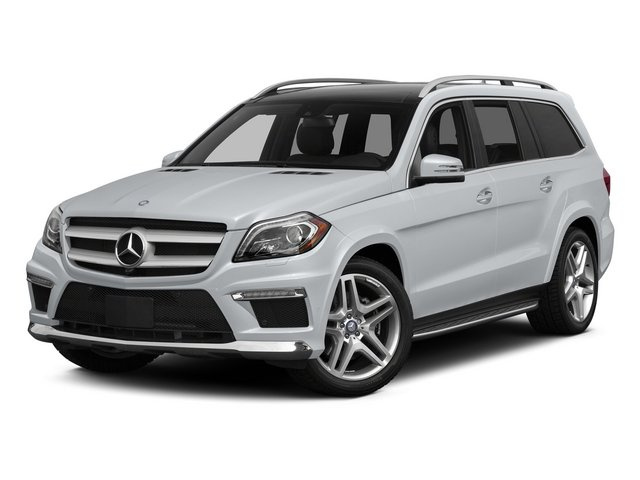 Diamond Silver Metallic 2015 Mercedes-Benz GL-Class Pictures GL-Class Utility 4D GL550 4WD V8 photos front view
