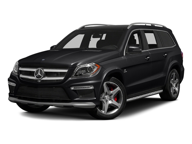Black 2015 Mercedes-Benz GL-Class Pictures GL-Class Utility 4D GL63 AMG 4WD V8 photos front view