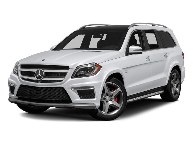 Polar White 2015 Mercedes-Benz GL-Class Pictures GL-Class Utility 4D GL63 AMG 4WD V8 photos front view