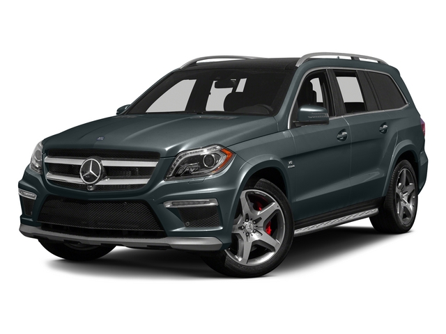 Steel Gray Metallic 2015 Mercedes-Benz GL-Class Pictures GL-Class Utility 4D GL63 AMG 4WD V8 photos front view
