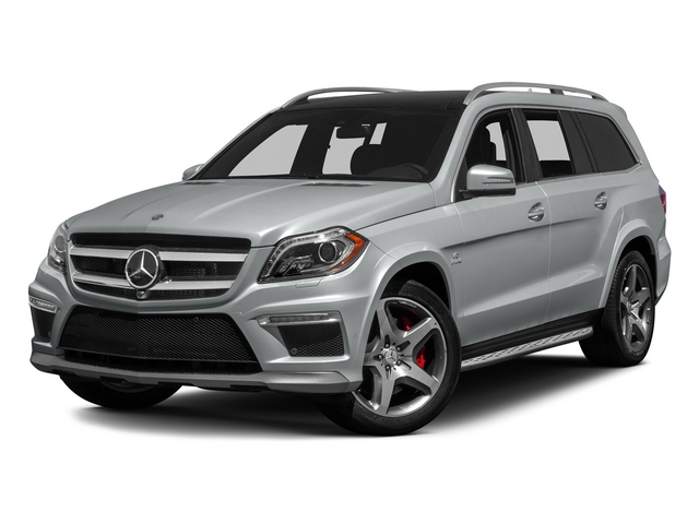 Iridium Silver Metallic 2015 Mercedes-Benz GL-Class Pictures GL-Class Utility 4D GL63 AMG 4WD V8 photos front view