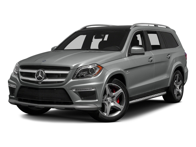 Palladium Silver Metallic 2015 Mercedes-Benz GL-Class Pictures GL-Class Utility 4D GL63 AMG 4WD V8 photos front view