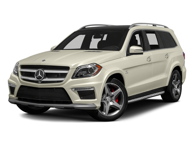 Diamond White Metallic 2015 Mercedes-Benz GL-Class Pictures GL-Class Utility 4D GL63 AMG 4WD V8 photos front view