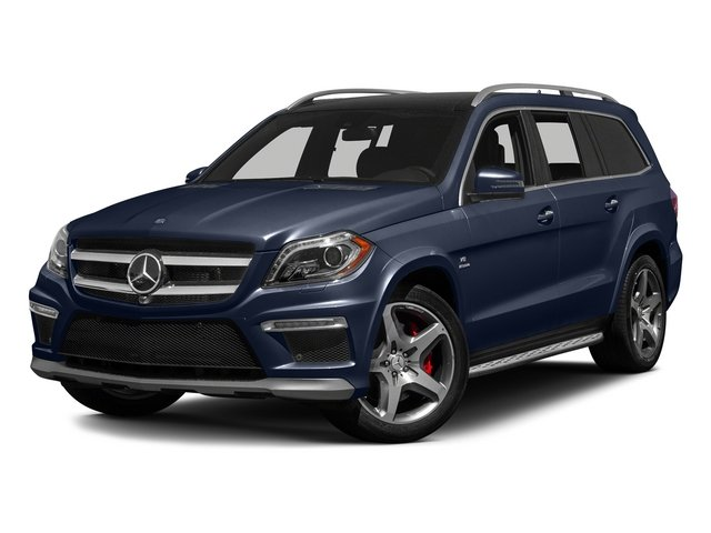 Lunar Blue Metallic 2015 Mercedes-Benz GL-Class Pictures GL-Class Utility 4D GL63 AMG 4WD V8 photos front view