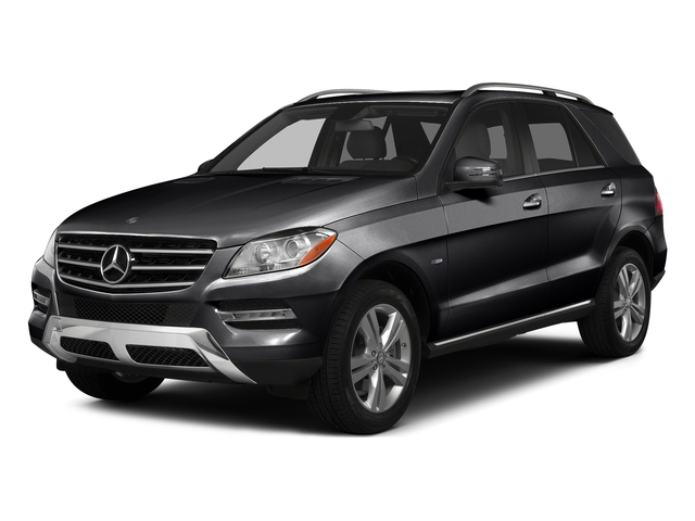 Black 2015 Mercedes-Benz M-Class Pictures M-Class Utility 4D ML350 AWD V6 photos front view
