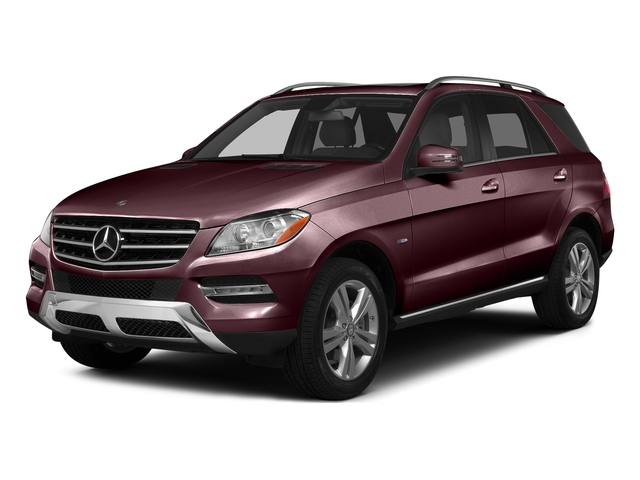 Cinnabar Red Metallic 2015 Mercedes-Benz M-Class Pictures M-Class Utility 4D ML350 2WD V6 photos front view