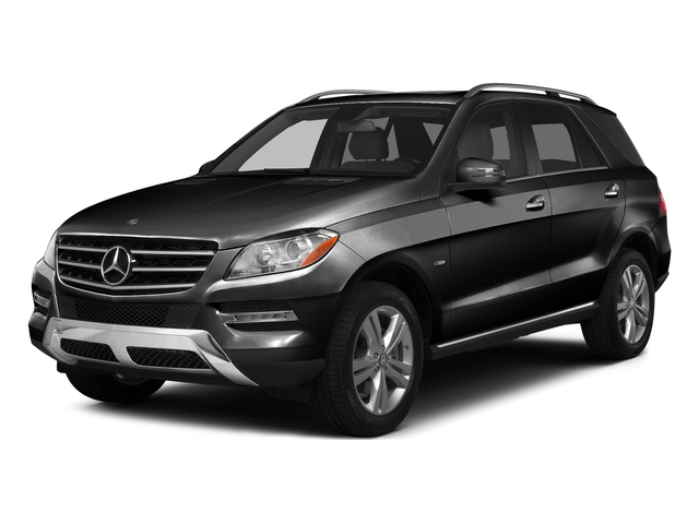 Obsidian Black Metallic 2015 Mercedes-Benz M-Class Pictures M-Class Utility 4D ML350 2WD V6 photos front view