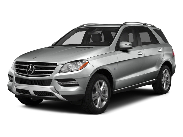 Palladium Silver Metallic 2015 Mercedes-Benz M-Class Pictures M-Class Utility 4D ML350 2WD V6 photos front view