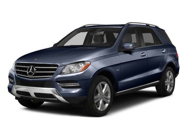Lunar Blue Metallic 2015 Mercedes-Benz M-Class Pictures M-Class Utility 4D ML350 2WD V6 photos front view
