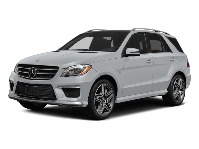 Diamond Silver Metallic 2015 Mercedes-Benz M-Class Pictures M-Class Utility 4D ML63 AMG AWD V8 photos front view