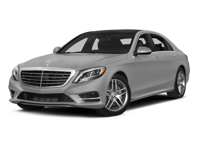 designo Magno Alanite Gray (Matte Finish) 2015 Mercedes-Benz S-Class Pictures S-Class Sedan 4D S550 AWD V8 photos front view