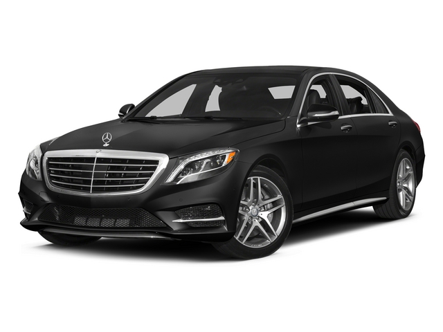 Obsidian Black Metallic 2015 Mercedes-Benz S-Class Pictures S-Class Sedan 4D S550 AWD V8 photos front view