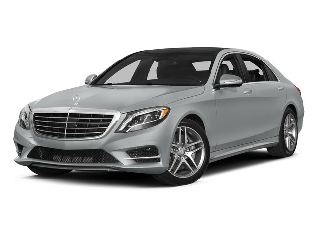 Iridium Silver Metallic 2015 Mercedes-Benz S-Class Pictures S-Class Sedan 4D S550 AWD V8 photos front view