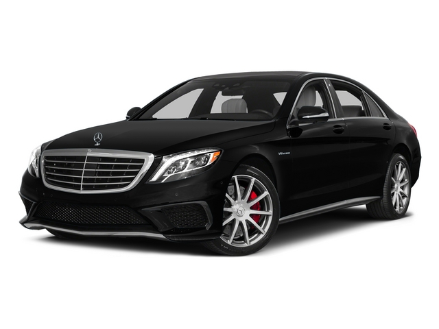 Magnetite Black Metallic 2015 Mercedes-Benz S-Class Pictures S-Class Sedan 4D S63 AMG AWD V8 Turbo photos front view