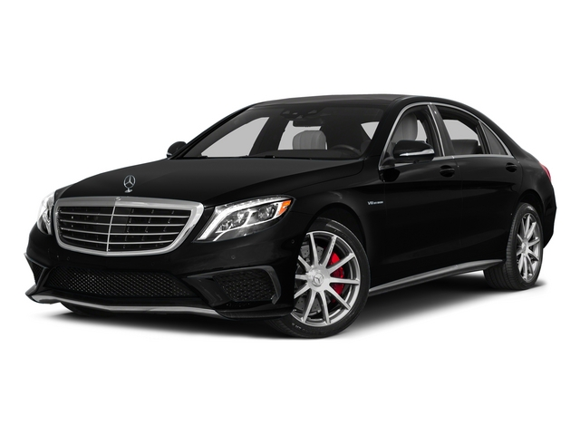 Obsidian Black Metallic 2015 Mercedes-Benz S-Class Pictures S-Class Sedan 4D S63 AMG AWD V8 Turbo photos front view