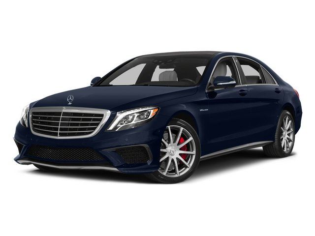 Lunar Blue Metallic 2015 Mercedes-Benz S-Class Pictures S-Class Sedan 4D S63 AMG AWD V8 Turbo photos front view