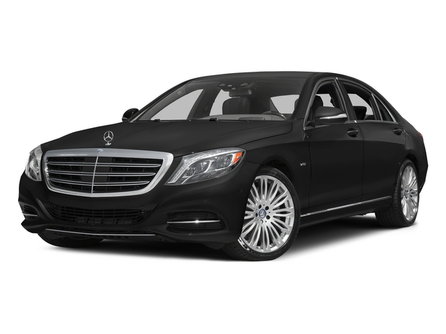 Obsidian Black Metallic 2015 Mercedes-Benz S-Class Pictures S-Class Sedan 4D S600 V12 photos front view