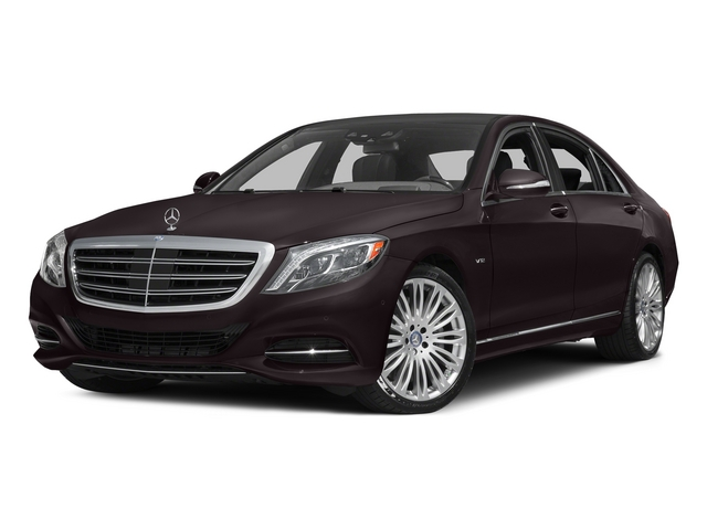 Ruby Black Metallic 2015 Mercedes-Benz S-Class Pictures S-Class Sedan 4D S600 V12 photos front view