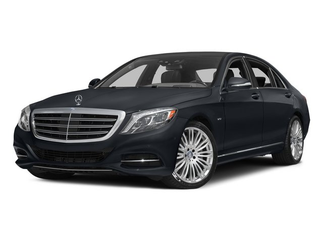 Anthracite Blue Metallic 2015 Mercedes-Benz S-Class Pictures S-Class Sedan 4D S600 V12 photos front view