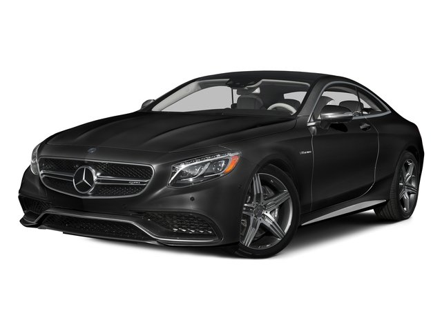Magnetite Black Metallic 2015 Mercedes-Benz S-Class Pictures S-Class Coupe 2D S63 AMG AWD V8 Turbo photos front view