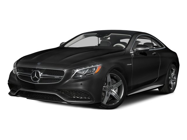 Obsidian Black Metallic 2015 Mercedes-Benz S-Class Pictures S-Class Coupe 2D S63 AMG AWD V8 Turbo photos front view