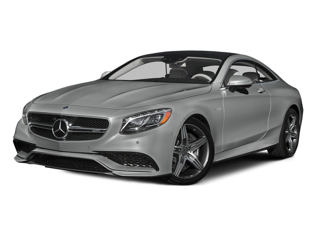Palladium Silver Metallic 2015 Mercedes-Benz S-Class Pictures S-Class Coupe 2D S63 AMG AWD V8 Turbo photos front view