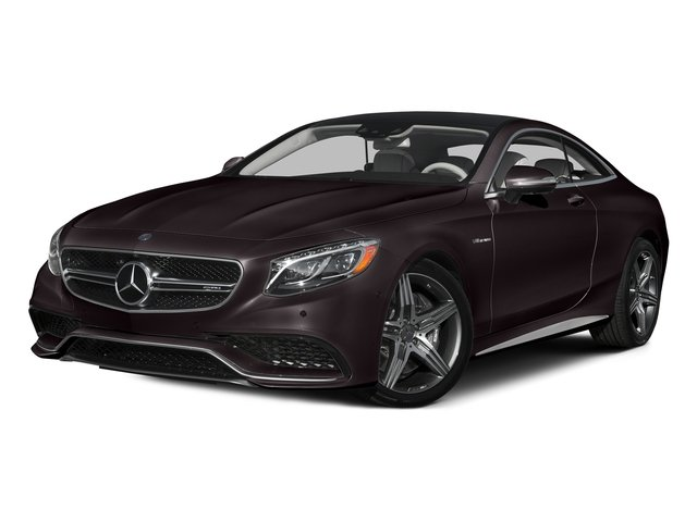 Ruby Black Metallic 2015 Mercedes-Benz S-Class Pictures S-Class Coupe 2D S63 AMG AWD V8 Turbo photos front view