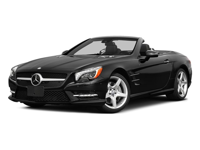 Magnetite Black Metallic 2015 Mercedes-Benz SL-Class Pictures SL-Class Roadster 2D SL550 V8 Turbo photos front view