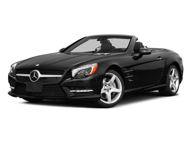 Obsidian Black Metallic 2015 Mercedes-Benz SL-Class Pictures SL-Class Roadster 2D SL550 V8 Turbo photos front view