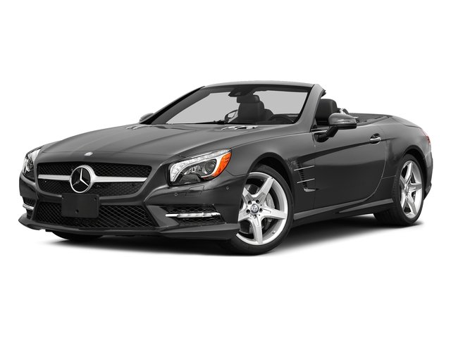 Steel Gray Metallic 2015 Mercedes-Benz SL-Class Pictures SL-Class Roadster 2D SL550 V8 Turbo photos front view