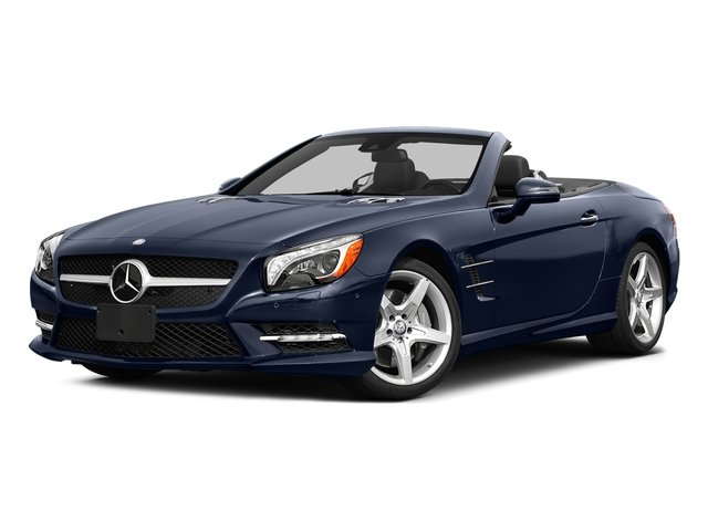 Lunar Blue Metallic 2015 Mercedes-Benz SL-Class Pictures SL-Class Roadster 2D SL550 V8 Turbo photos front view