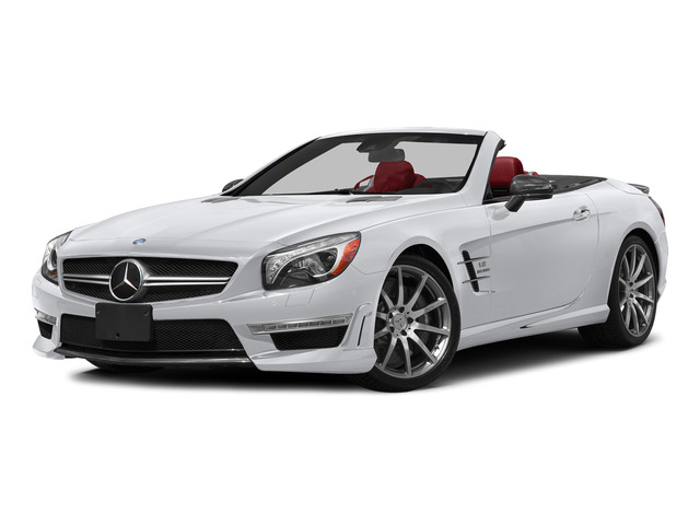 Polar White 2015 Mercedes-Benz SL-Class Pictures SL-Class Roadster 2D SL63 AMG V8 Turbo photos front view