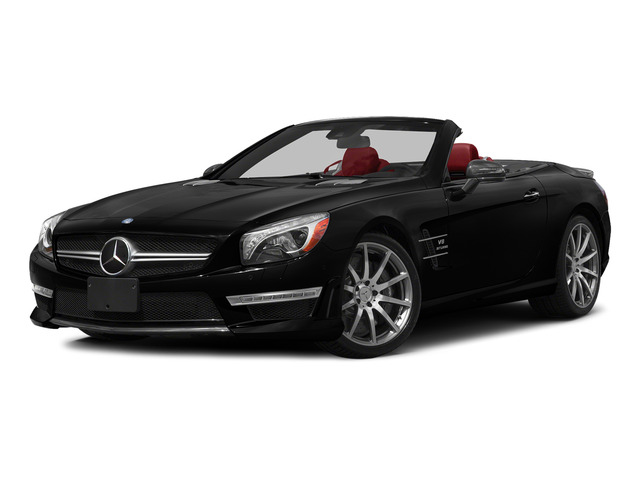 Magnetite Black Metallic 2015 Mercedes-Benz SL-Class Pictures SL-Class Roadster 2D SL63 AMG V8 Turbo photos front view