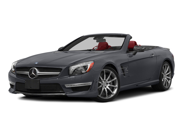 Shadow Gray Matte 2015 Mercedes-Benz SL-Class Pictures SL-Class Roadster 2D SL63 AMG V8 Turbo photos front view