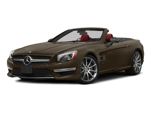 Dolomite Brown Metallic 2015 Mercedes-Benz SL-Class Pictures SL-Class Roadster 2D SL63 AMG V8 Turbo photos front view