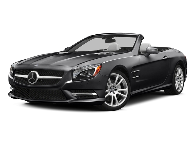 Black 2015 Mercedes-Benz SL-Class Pictures SL-Class Roadster 2D SL400 V6 Turbo photos front view