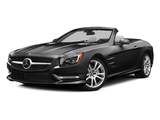 Obsidian Black Metallic 2015 Mercedes-Benz SL-Class Pictures SL-Class Roadster 2D SL400 V6 Turbo photos front view