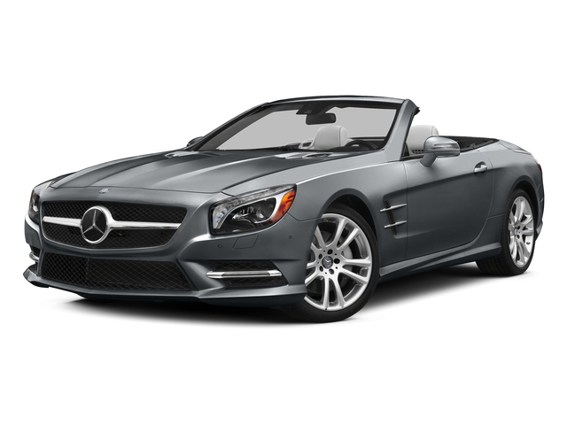 Shadow Gray Matte 2015 Mercedes-Benz SL-Class Pictures SL-Class Roadster 2D SL400 V6 Turbo photos front view