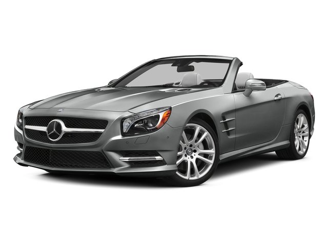 Palladium Silver Metallic 2015 Mercedes-Benz SL-Class Pictures SL-Class Roadster 2D SL400 V6 Turbo photos front view