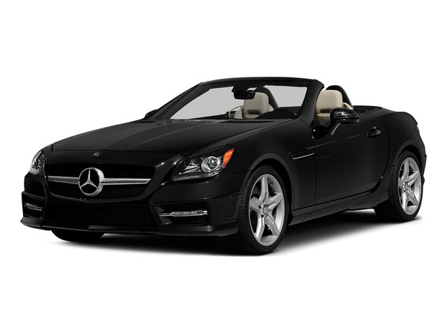 Obsidian Black Metallic 2015 Mercedes-Benz SLK-Class Pictures SLK-Class Roadster 2D SLK250 I4 Turbo photos front view